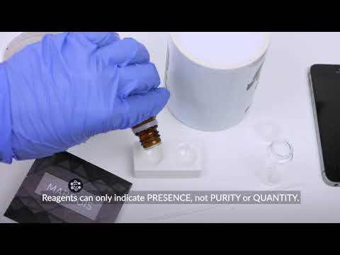 How to use Marquis reagent test? [BASICS]